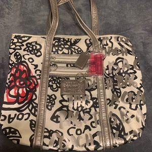 Coach Tote Bag (Poppy Collection)